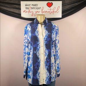 Escada silk blouse Size 36/Med 💖